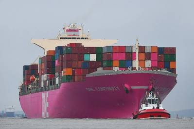 'Pink Lady' (Photo: Port of Hamburg)