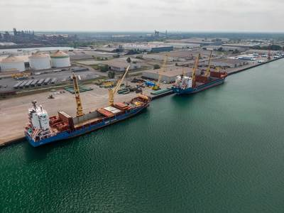 (Photo: Port of Indiana-Burns Harbor)
