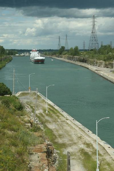 Photo: The St. Lawrence Seaway Management Corporation
