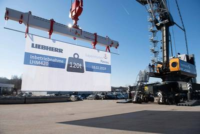 Photo: Liebherr