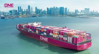 Photo: Ocean Network Express Pte. Ltd. (ONE)