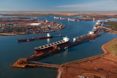 (File photo: Pilbara Ports Authority)