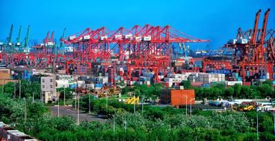 File photo: Tianjin Port Group