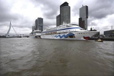 Photo: Ries van Wendel de Joode, Cruiseport Rotterdam