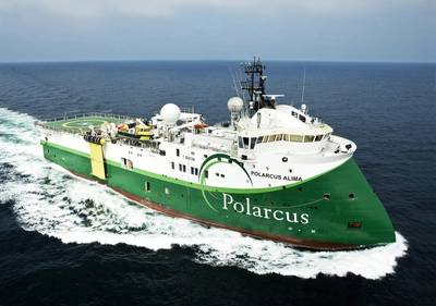 Polarcus Alima. (Photo: Polarcus)