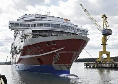 LNG Powered Viking Grace: Photo courtesy of STX Finland