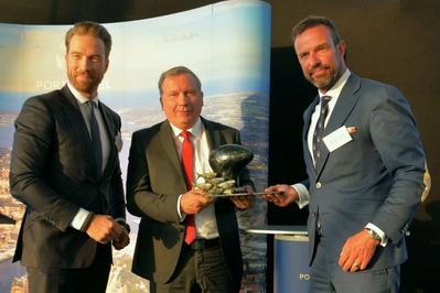 Port Prize awarded (Photo: PORT OF KIEL)