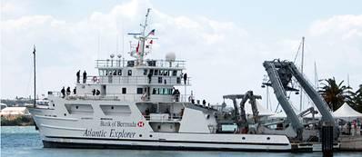 EBDG Project 'R/V Atlantic Explorer': Photo credit EBDG