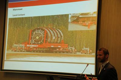 Ralph Lobbe, Business Development Manager Africa at Mammoet, elaborates on possibilities for Engineered Heavy Lifting and Transport.