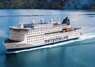 Rendering of Atlantic Mercy courtesy of Mercy Ships