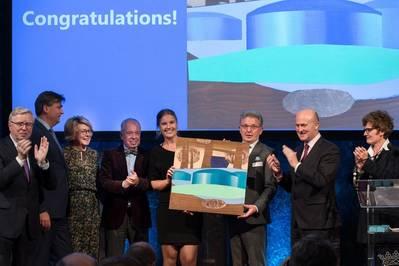 Port of Rotterdam Authority wins the ESPO Award 2018. Photo: European Sea Ports Organisation