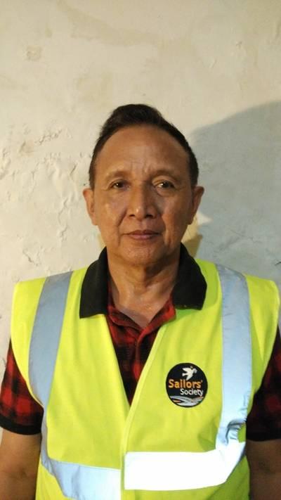 Sailors' Society chaplain Muhartono Tito (Photo: Sailors' Society)