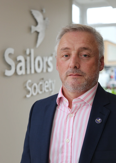 Sailors' Society's CEO Stuart Rivers (Photo: Sailors' Society)