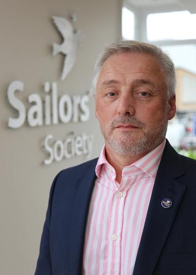 Sailors' Society's CEO Stuart Rivers (Photo: Sailors' Society)