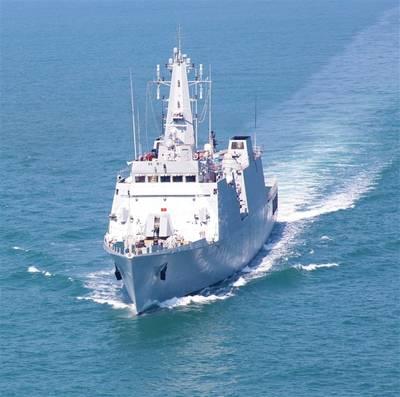 INS Saryu: Photo credit Goa Shipyard