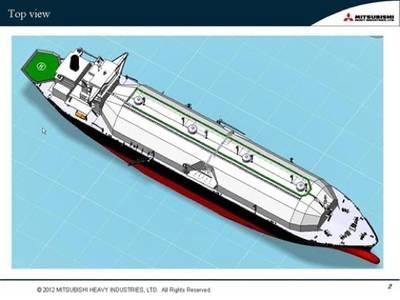 Sayaendo LNG Carrier: Image credit MHI