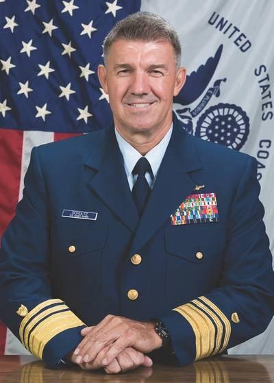 USCG Vice Adm. Schultz, the commander of the Coast Guard's Atlantic Area