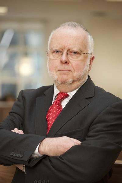 ICS Secretary General, Peter Hinchliffe