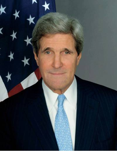 U.S. Secretary of State John Kerrylanded in Baghdad on Monday. (Photo: http://www.state.gov)