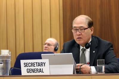 IMO Secretary-General Kitack Lim (File photo: IMO)