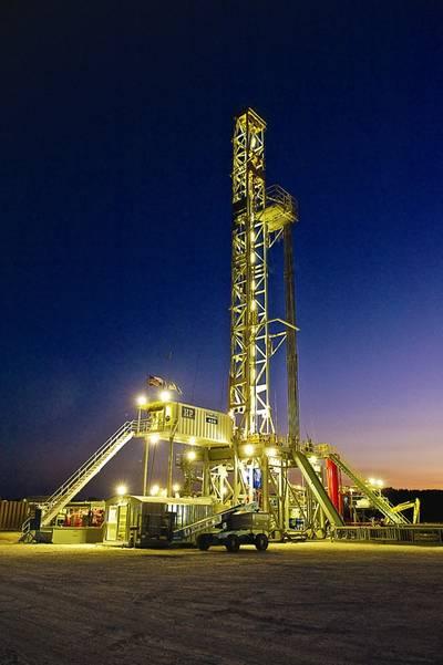 Shale Drilling @ EagleFord (Courtesy Conoco)