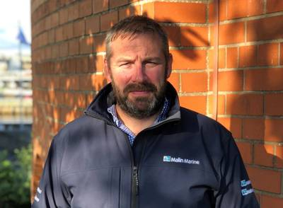 Ben Sharples was tapped as the new director of Malin Marine. Photo: Malin