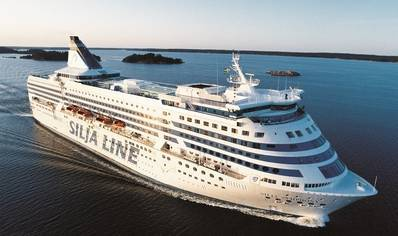 Silja Line Ship: Photo credit Marine Software Ltd.