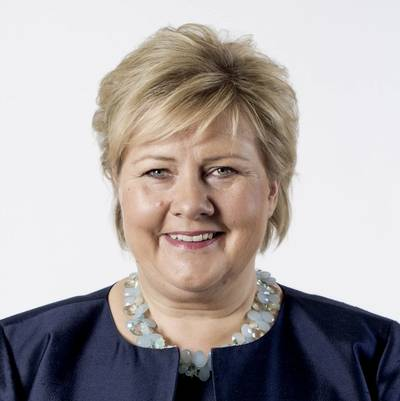 Erna Solberg (Photo: Thomas Haugersveen/Prime Minister's Office)