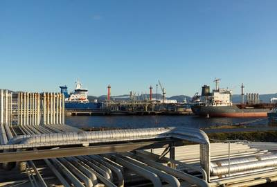 Statoil's Mongstad refinery (Photo: Øyvind Hagen / Statoil)