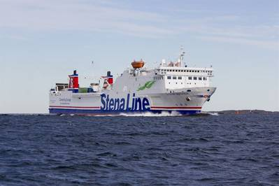 Stena Gothica is one of the vessels operating Liepaja-Karlskrona-Travemünde. Photographer: Stena Line/Ann-Charlotte Ytterberg