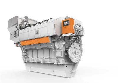 The supreme efficiency of the Wärtsilä 31 engine makes it a competitive and viable alternative option for equipping future dry bulk carrier vessels with LNG propulsion. Photo Wartsila