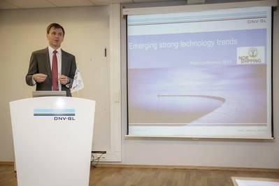 Tor E. Svensen, CEO DNV GL – Maritime