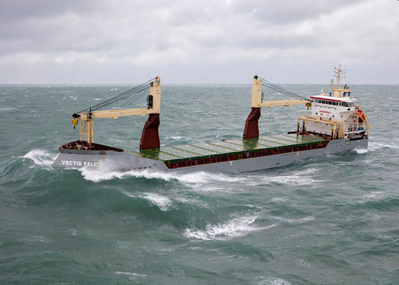 Telemar chosen to provide bridge system repair and maintenance services to Carisbrooke Shipping. Vectis Falcon pictured. Credit: Carisbrooke Shipping