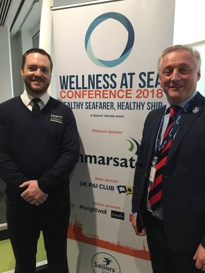 Dan Thompson and Stuart Rivers  (Photo: Sailors' Society)