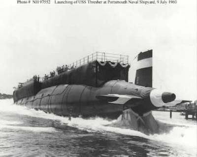 USS Thresher: Photo courtesy of Arlington National Cemetery