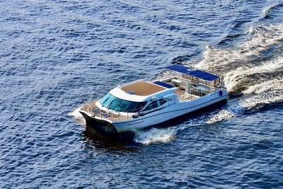 Tokyo Cruise Ship's Urban Launch (Photo: Mitsubishi Shipbuilding Co., Ltd.)