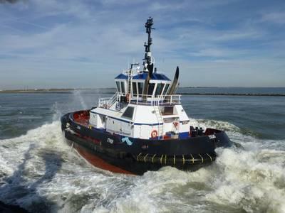 Tugboat Zeus: Photo courtesy of Robert Allan