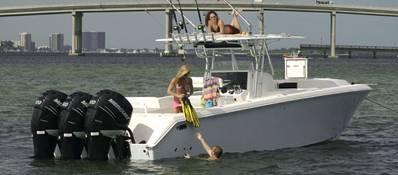Venture Boats 39' Cuddy: Photo credit Venture Boats