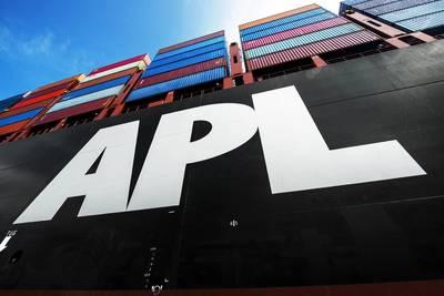 APL Vessel. Photo: APL