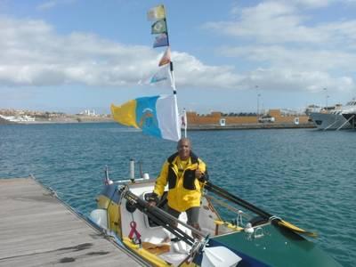 Victor Mooney at Pasito Blanco - La Punta Yacht Club in Maspalomas, Gran Canaria