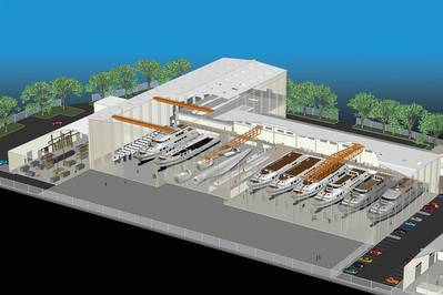 Vigor selects Vancouver, Washington site for a state-of-the-art, all-aluminum fabrication facility. Rendering courtesy VIGOR