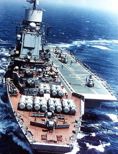 'Vikramaditya' as 'Admiral Gorshkov'