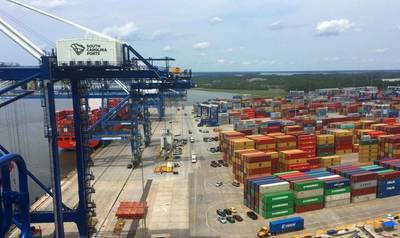Wando Welch Terminal. Photo: South Carolina Ports Authority