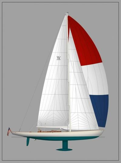 W-class 123' Yacht: Image credit W-class Yacht Co.