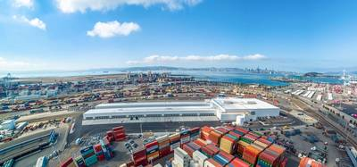 Welcome to Lineage Cool Port Oakland, one of the world's most advanced food storage and transportation hubs. Photo: Business Wire