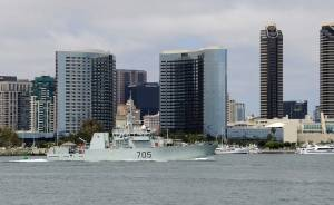 HMCS Whitehorse (Photo: Joshua Scott/U.S. Navy)