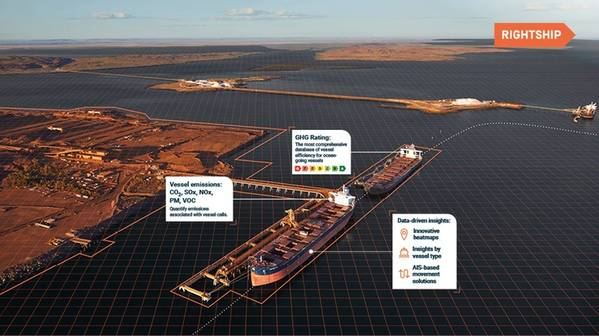 After partnering with The Australian Marine Environment Protection Association (AUSMEPA), and winning a $250,000 Google Impact grant in 2016, RightShip and AUSMEPA have developed a Maritime Emissions Portal (MEP), which will provide leading emissions inventory data to ports around the world. Image Courtesy RightShip