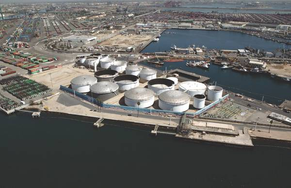 Image credit: Port of Los Angeles - Liquid Terminals