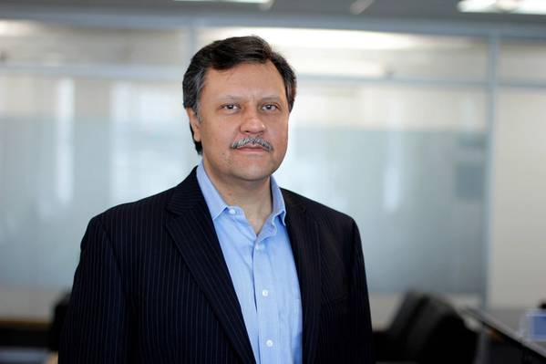 Omar Shamsie, the new president of Maersk Line in North America. (CREDIT: Maersk)