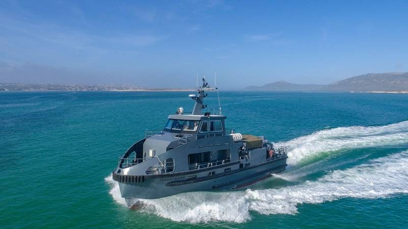 South African Special Forces Workboat Delivered To